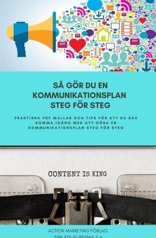 Kommunikationsplan steg för steg