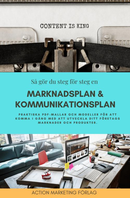 Bok Marknadsplan och kommunikationsplan