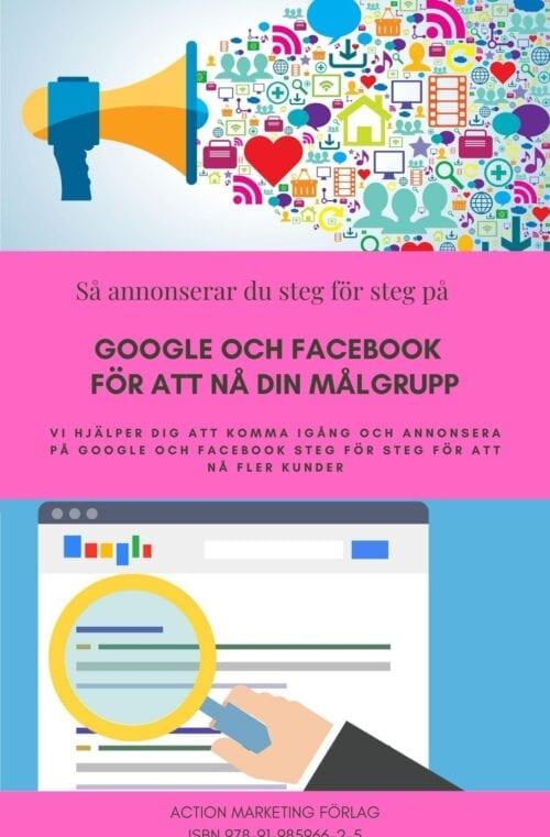 e-bok annonsera på Google Ads och Facebook