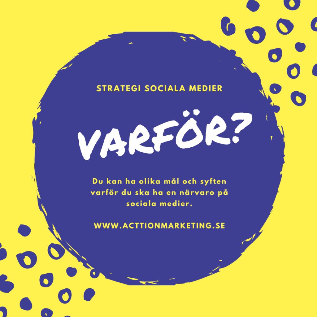 Strategi sociala medier 5 steg
