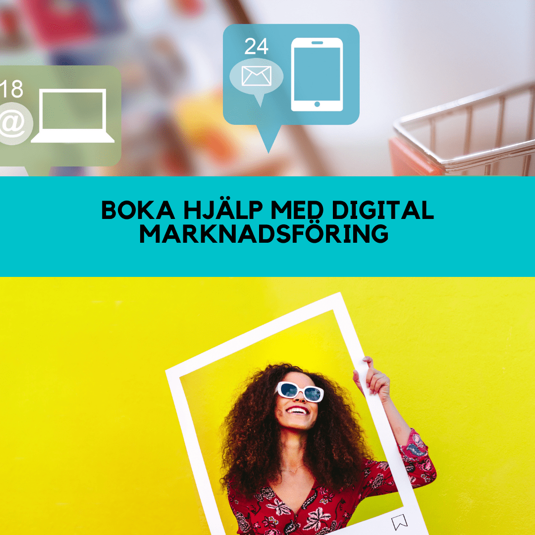 Boka rådgivning om digital marknadsföring