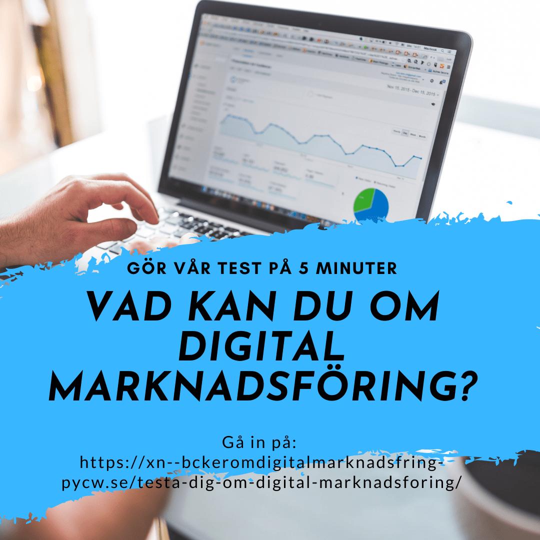 Testa vad du kan om digital marknadsföring